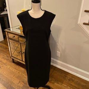 NWT Banana Republic Black Sheath Dress-Size 14